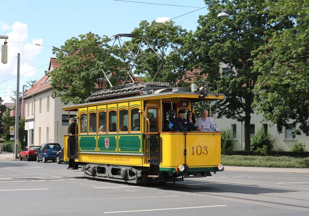 Am 7. August und am 4. Septmeber geht die historische Straßenbahn wieder auf Fahrt. Foto: Jens Winnig