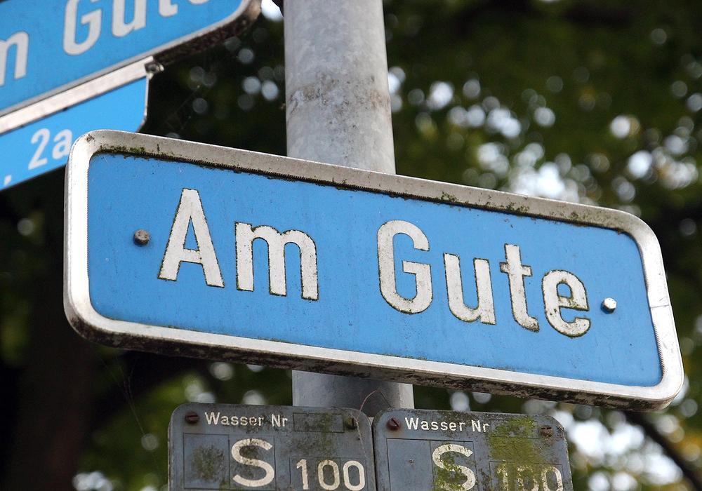 """Die Stadt informiert über den Endausbau """"Am Gute"""". Foto: Archiv"""