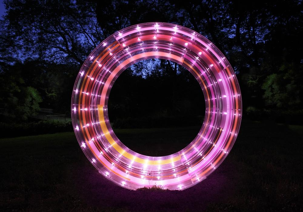 Der Lichtparcours 2016 ist eröffnet. Symbolfoto: Thomas Liebig