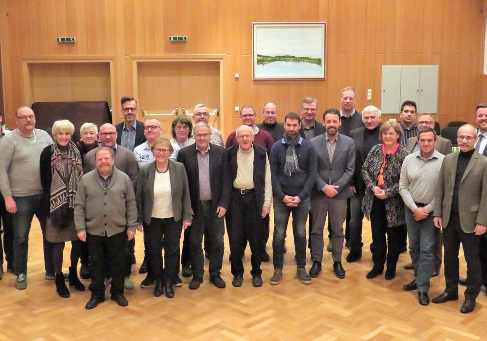 Rat der Gemeinde Lehre nach der Sitzung am 29. November 2018. Foto: Gemeinde Lehre