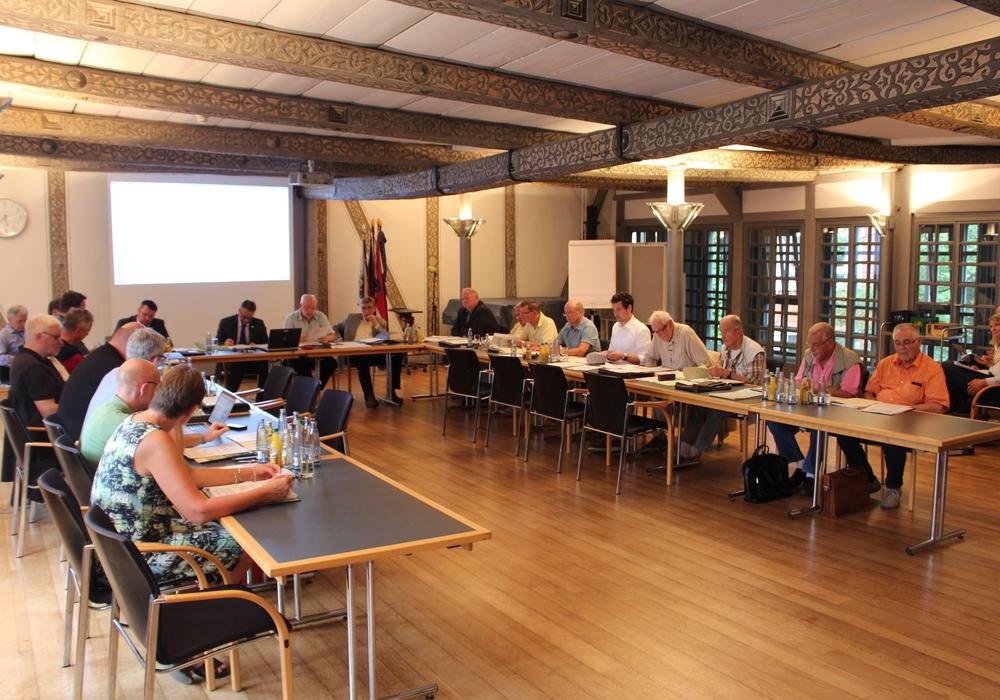 Die Grünen im Rat der Stadt beziehen Stellung zu dem von ihnen eingereichten Antrag. Foto: Alexander Dontscheff
