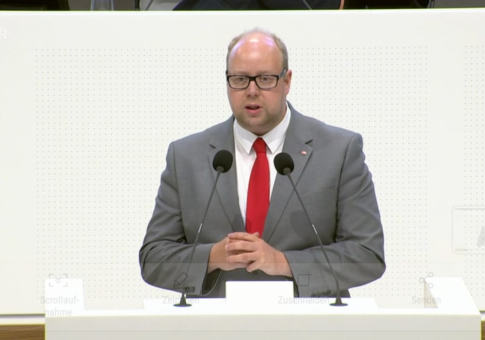 SPD Landtagsabgeordnete Jörn Domeier Foto: SPD