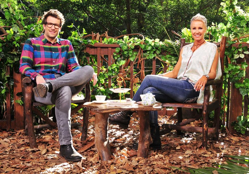 Bald werden die Moderatoren Sonja Zietlow und Daniel Hartwich die Braunschweigerin Gisele Oppermann im Dschungel begrüßen. Foto: MG RTL D / Stefan Menne