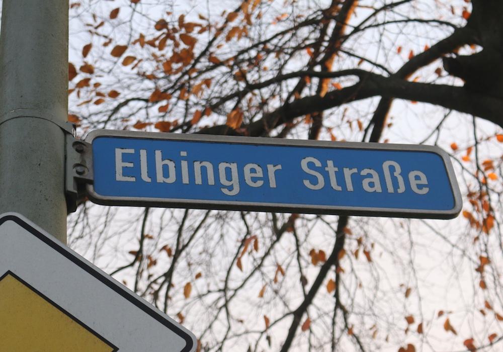 """Ist die Elbinger Straße eine """"Durchflugsschneise""""? Fotos: Werner Heise"""