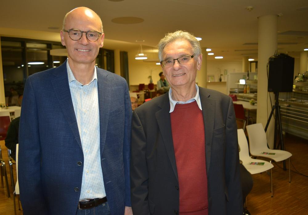 von links: Dr. Peter-Maximilian Müller-Marhenke und Adolf Stöhr. Foto: Evangelischer Kirchenkreis Peine