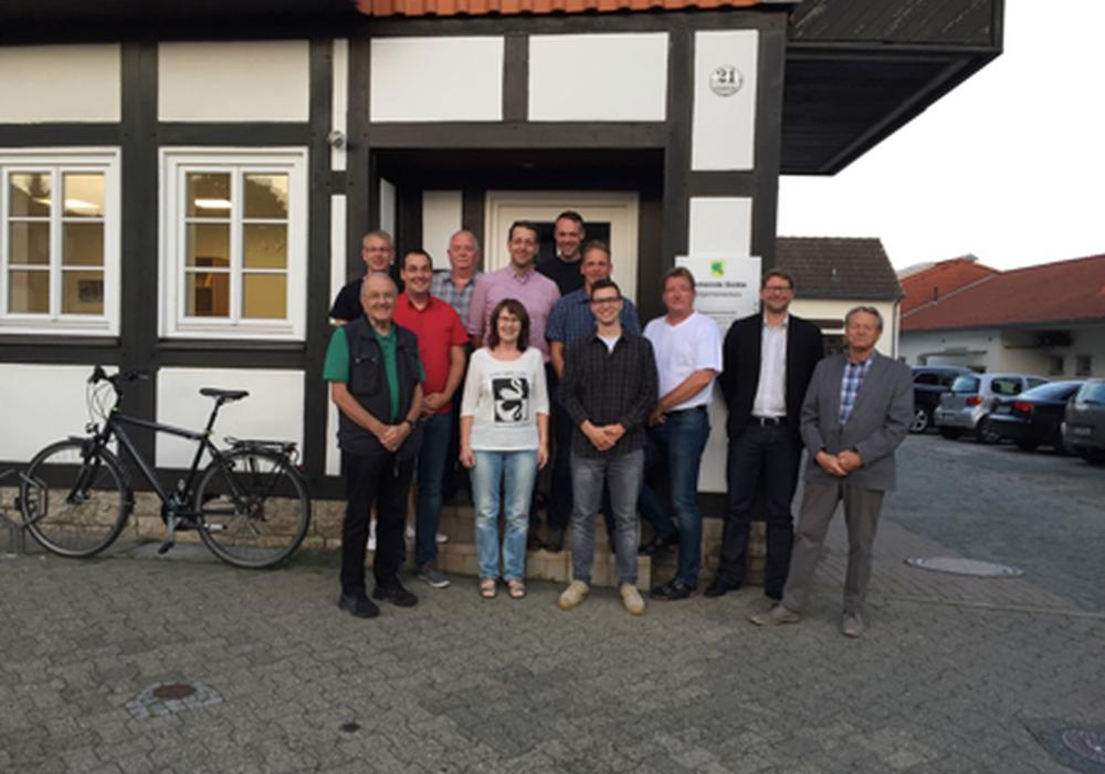Die CDU/FDP-Gruppe im Sickter Gemeinderat. Foto: privat
