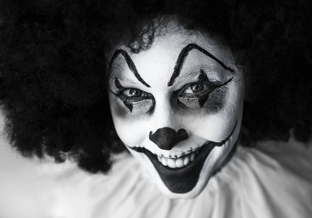 Horror-Clown, Foto: pixabay