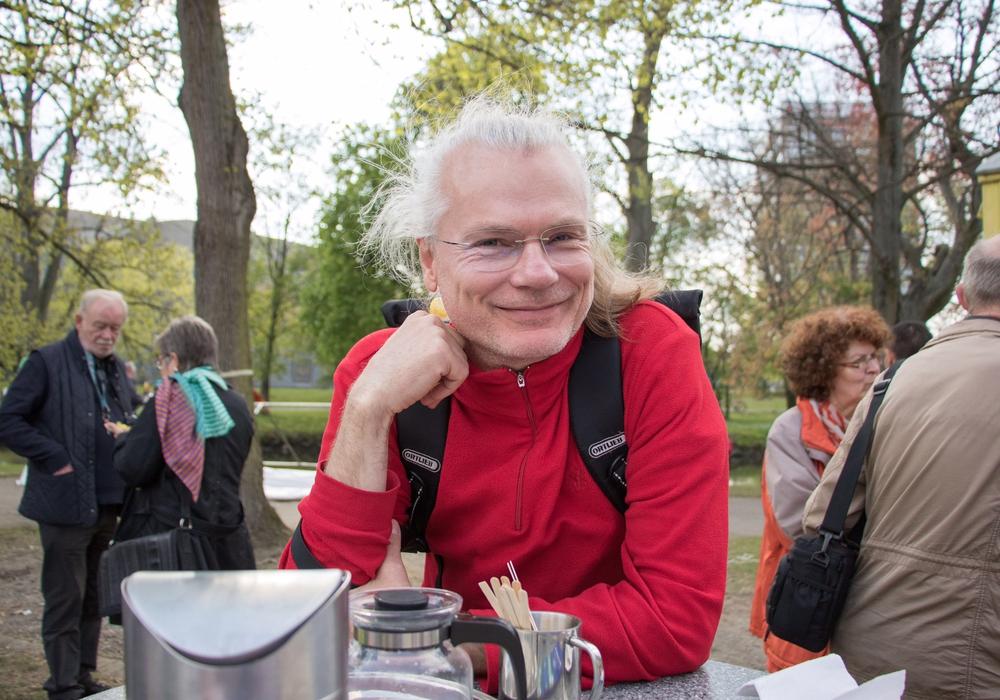 Edmund Schultz von der Bürgerinitiative Baumschutz. Foto: Bürgerinitiative Baumschutz