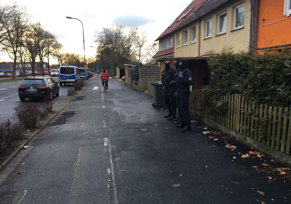 Am Dienstagmorgen durchsuchte die Polizei zwei Wohnungen in Telgte und der Südstadt. Foto: aktuell24(bm)
