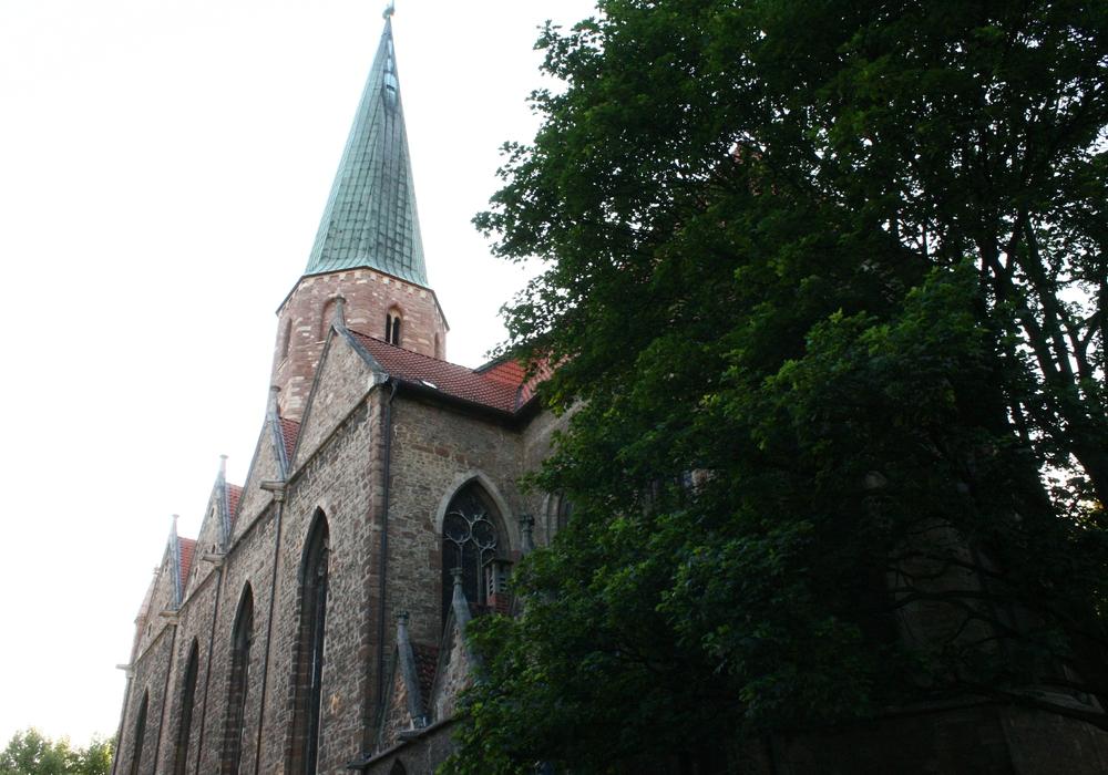 Neben der Petrikirche in Braunschweig gab es früher ein Beginenhaus. Foto: Archiv/Anke Donner