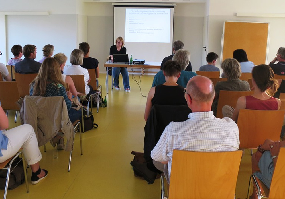 Maren Haas, Referentin im Saal des ITZ . Foto: ITZ