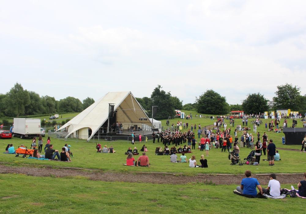 Das gute Wetter lockte viele Besucher zum 21. Seefest. Fotos: Antonia Henker
