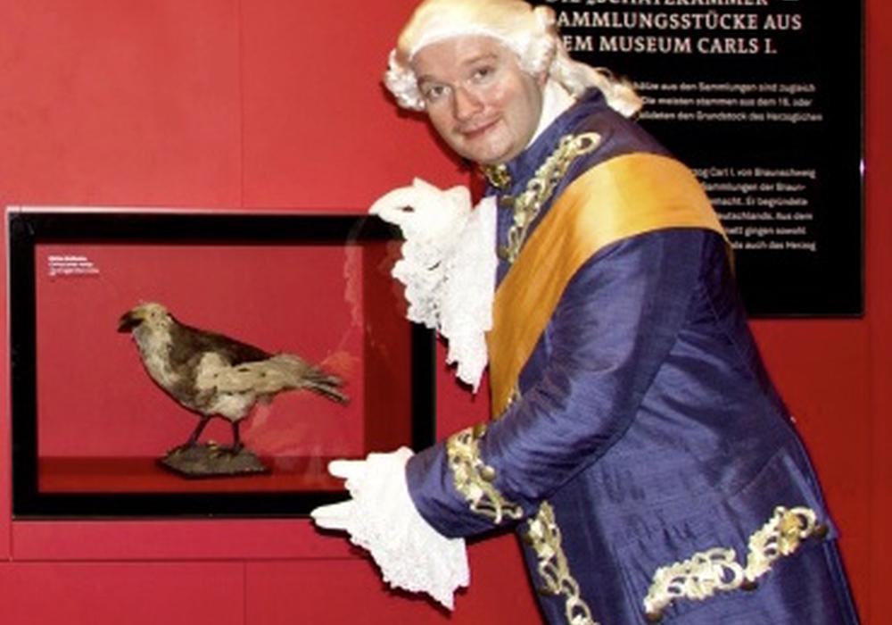 Kostümführung mit Carl 1, Foto: Naturhistorisches Museum
