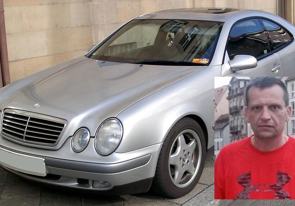 Der dringend Tatverdächtige ist in einem Mercedes CLK unterwegs. Foto: Polizei Braunschweig