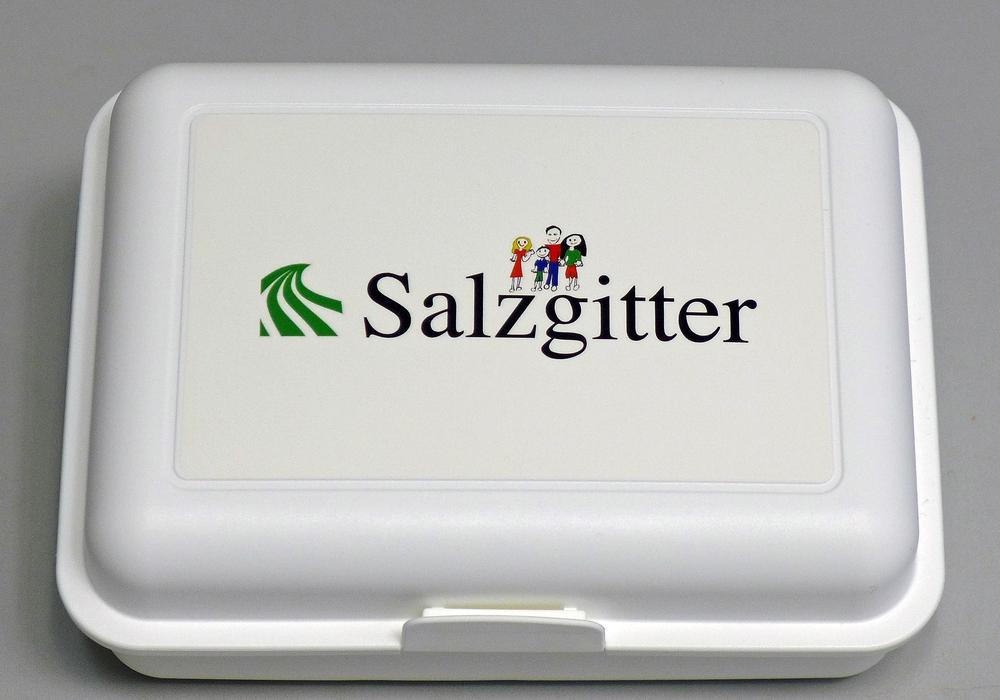 Diese Brotdose ist neben anderen Salzgitter-Artikeln erhältlich. Foto: Stadt Salzgitter