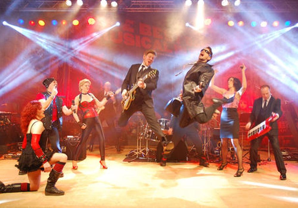 Am 14. Mai auf der Bühne des Brunnentheaters: Die Musical-Night 2017. Foto: SET Toerber