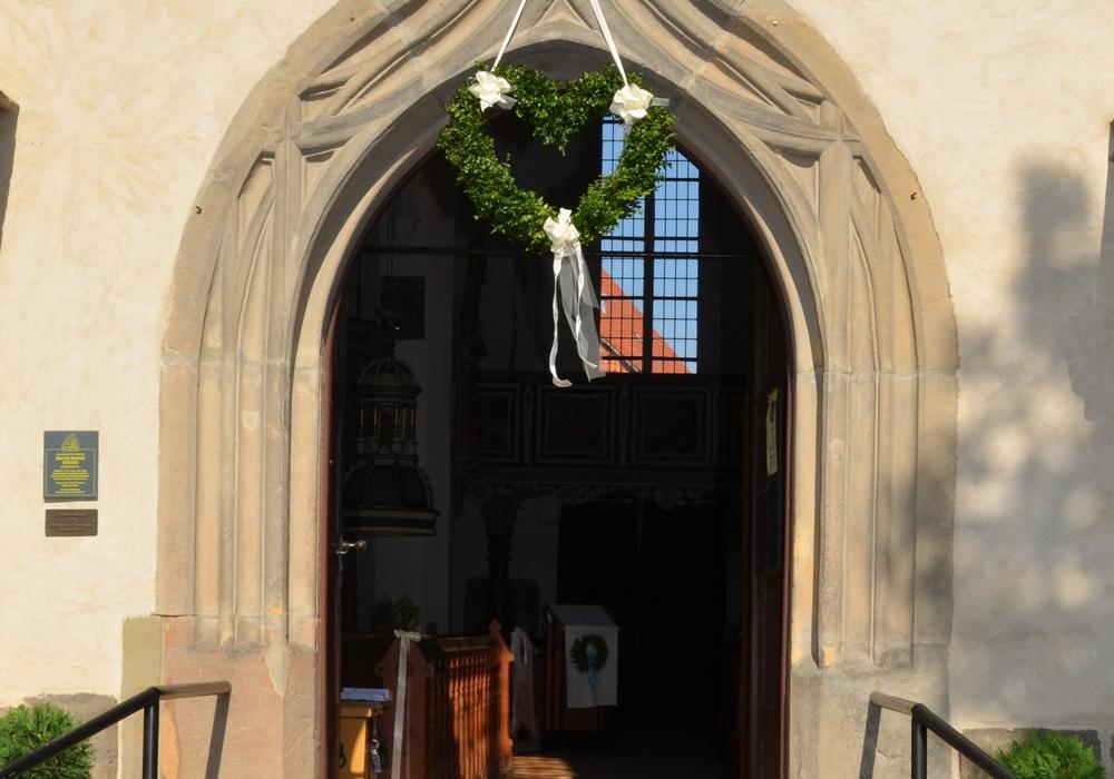 Evangelische Kirche Beatae Mariae Virginis zu Hornburg lädt zum Tag des offenen Denkmals ein. Foto: Anke Donner