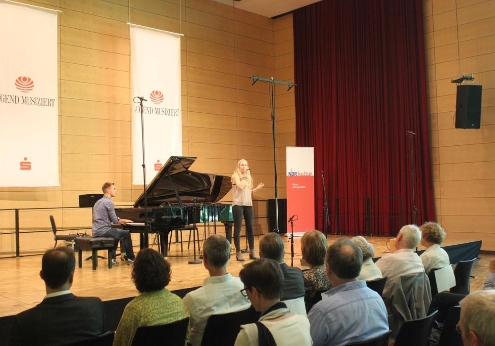 Am Samstag fand das Vierländer-Konzerts in der Landesmusikakademie statt. Fotos: Anke Donner