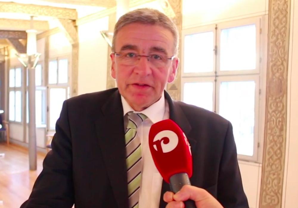 Bürgermeister Thomas Pink im Interview. Foto: Anke Donner