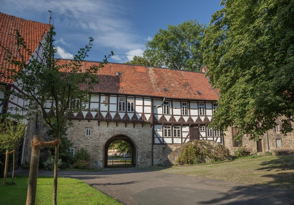 Die Wasserburg in Gebhardshagen. Fotos: Stadt Salzgitter