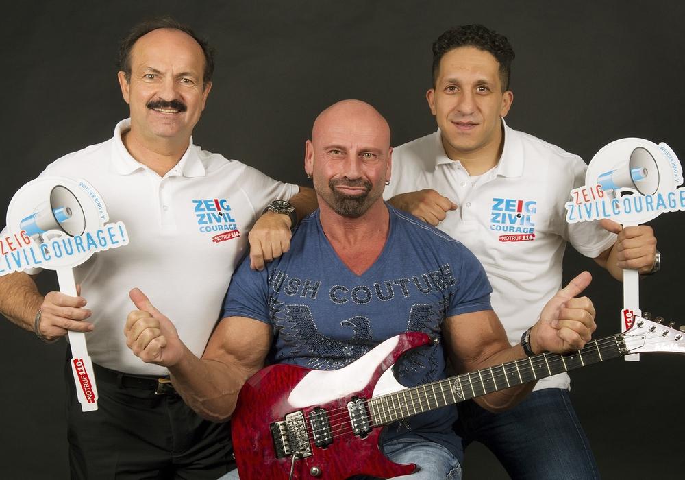 Günter Koschig, Ron Matz und Fadi Saad. Foto: Photogeno Goslar