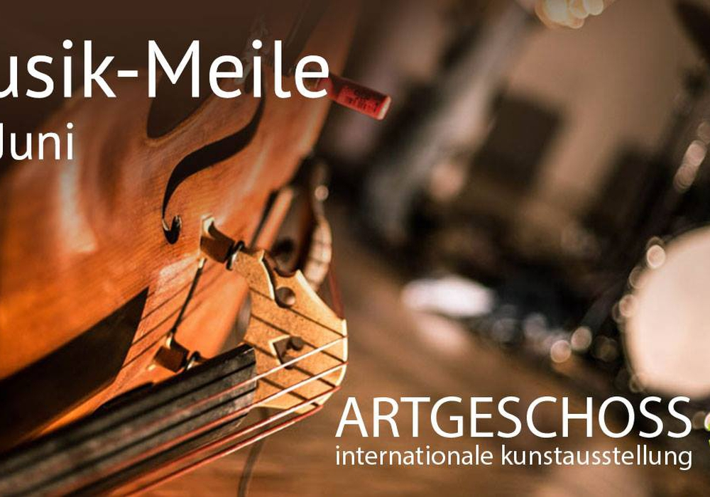 Die Live-Musik-Meile wird ein Höhepunkt der Kunstausstellung Artgeschoss sein. Foto: WIS