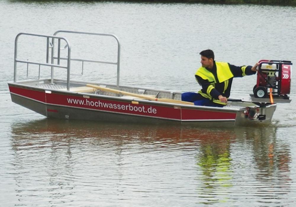 Rettungsboot Uniboot Oberwinter RTB1 Foto: J. W. Schaefer Metallverarbeitung