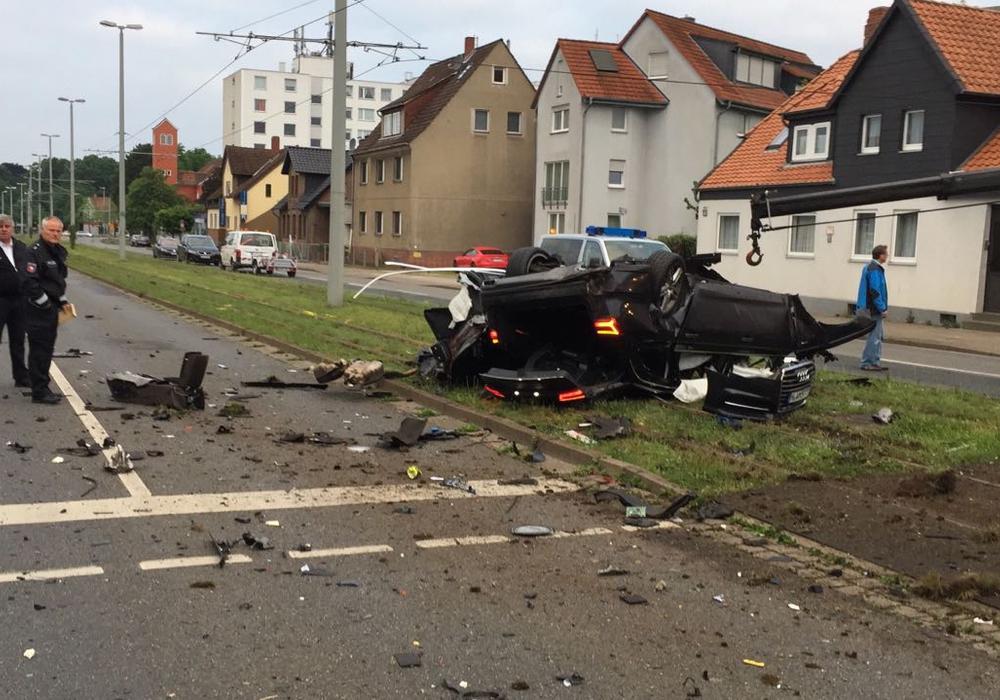 Die Zahl der Verkehrsunfälle im Stadtgebiet von Braunschweig ist gesunken. Allerdings gab es mehr Tote. Symbolfoto: Alexander Panknin