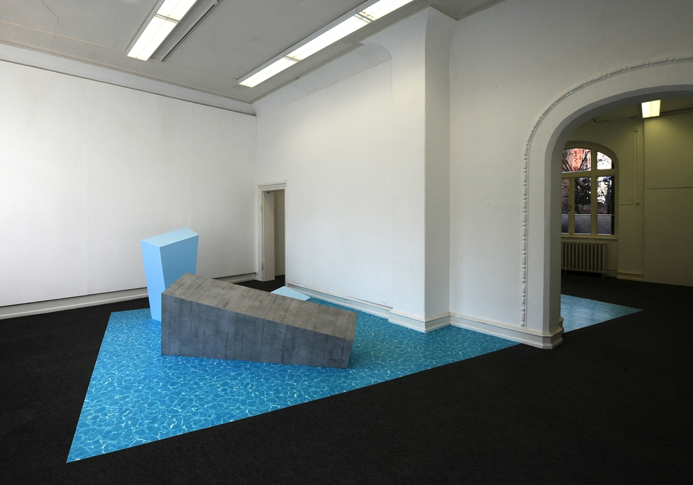 Die Installation des Künstlerduos kreist um das komplexe Themenfeld der Wertschöpfung. Foto: Privat
