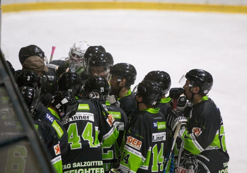 Die Icefighters agierten in Adendorf wieder als Mannschaft. Foto: Jens Bartels/Archiv