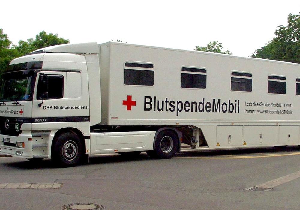 Blutspendemobil, Foto: DRK
