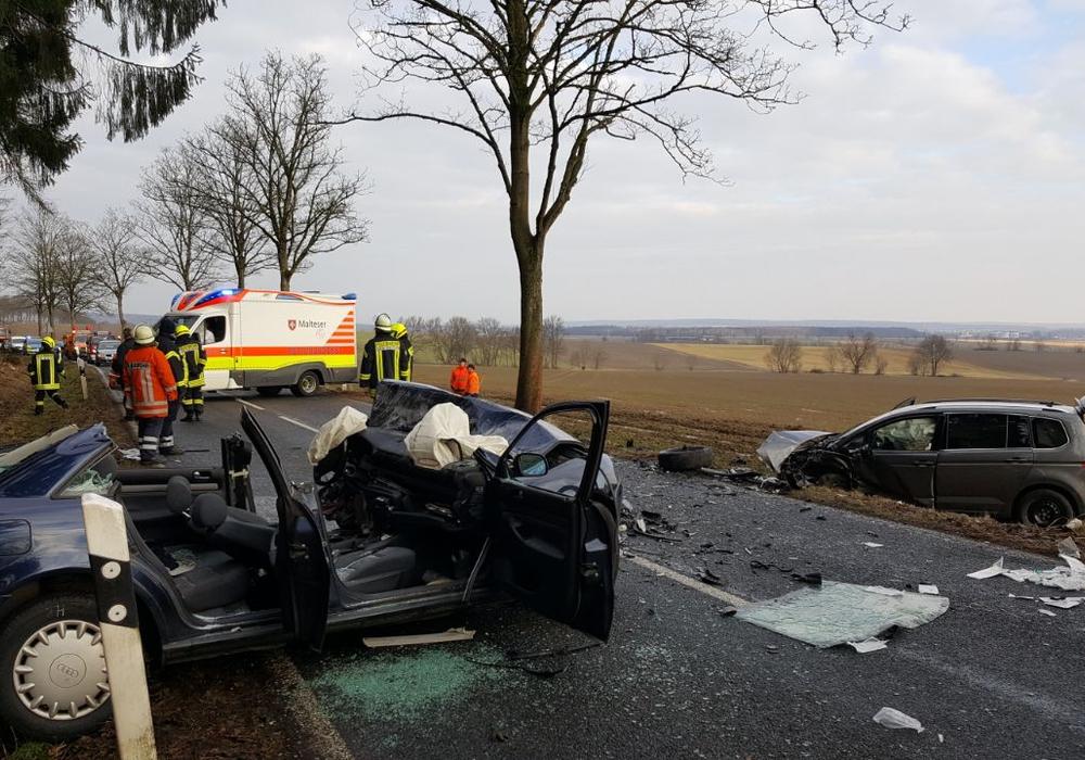 Eine große Belastung auch für die Rettungskräfte. Fotos: Kreisfeuerwehr Helmstedt, Aygün Erarslan