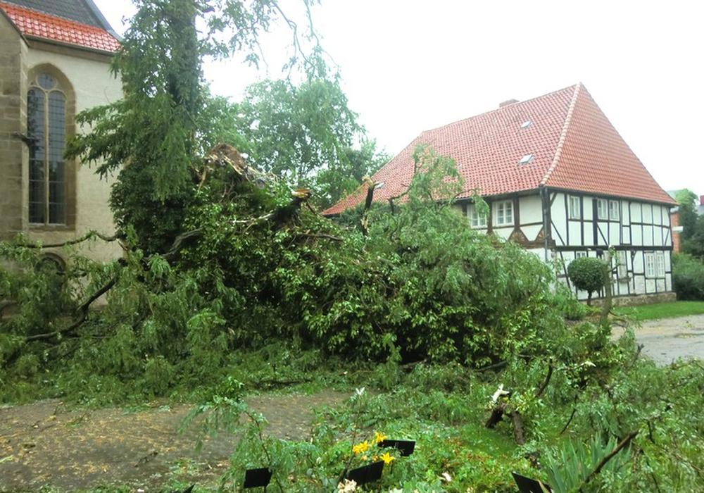 Rund 40 Einsätze mussten die Wehren der Gemeinde Schladen-Werla beim Unwetter anfahren. Foto: Jill Geske-Gloger