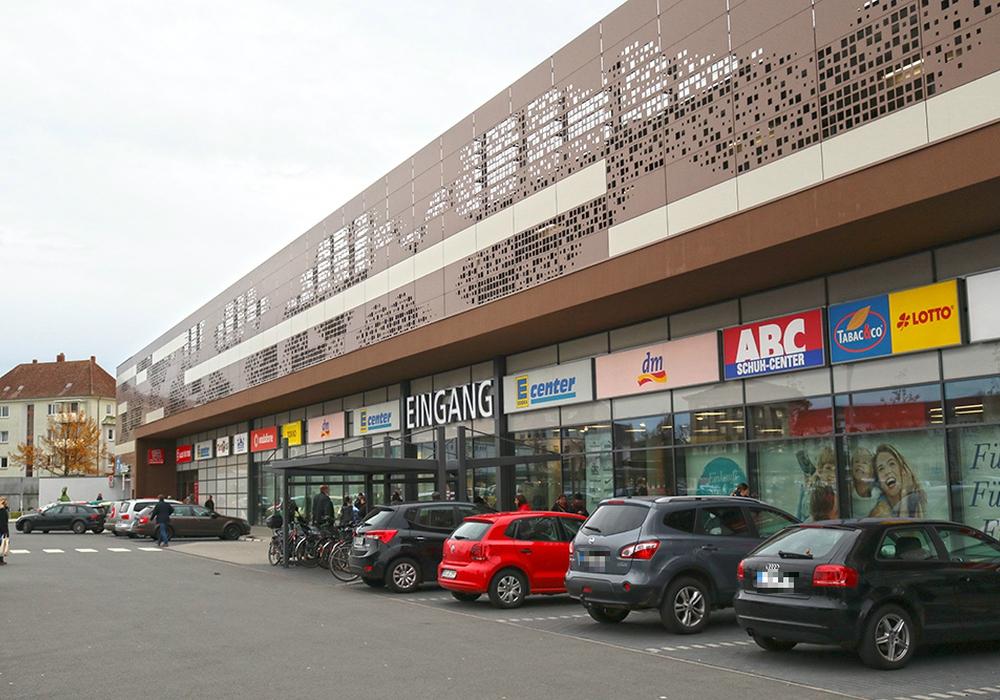 Im BraWo-Shopping-Center kam es am Montag zu einem Feueralarm. Foto: Vollmer