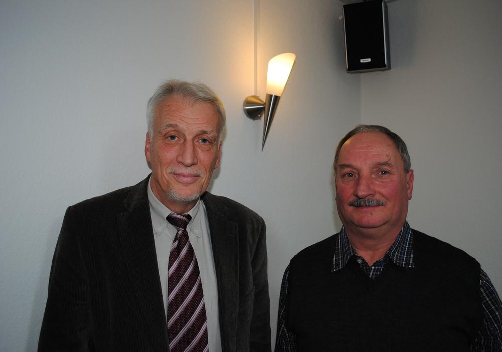 Die Neuen sind die Alten in Salzdahlum: Ortsbürgermeister Ralf  Achilles und sein Stellvertreter Rolf Buchheister wurden wiedergewählt. Foto: Marc Angerstein
