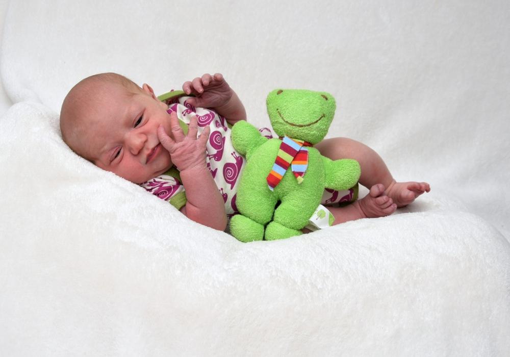 Willkommen: Clara Herold. Foto: babysmile24.de