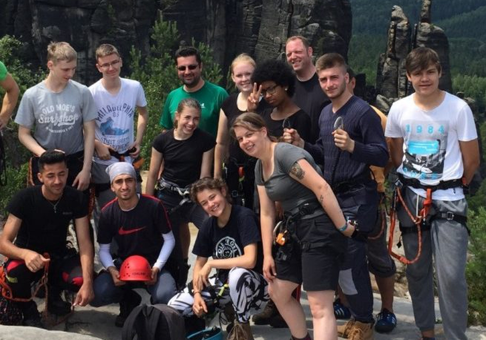 Die Jugendlichen erlebten eine unvergessliche Fahrt. Foto: Stadt Wolfsburg