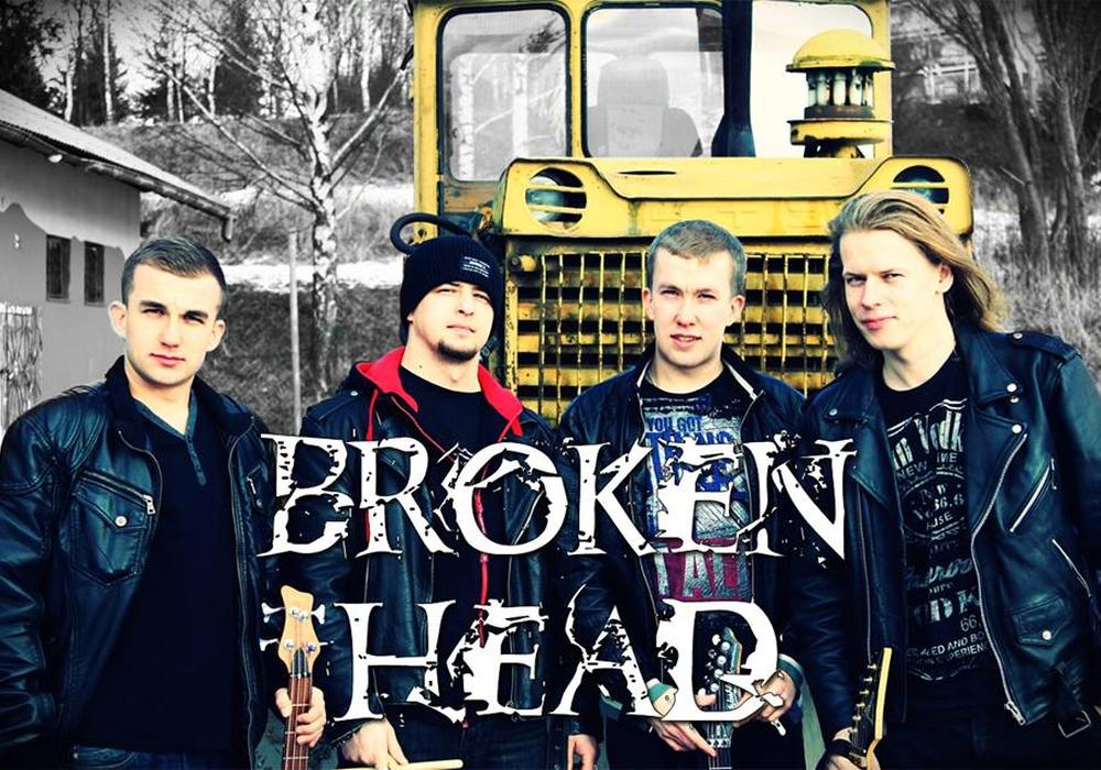 """Die Metalband """"Broken Head"""" aus Kamienna Gòra eröffnet das """"Exchange it – Rock international""""-Konzert im Schlossinnenhof. Fotos: Privat"""