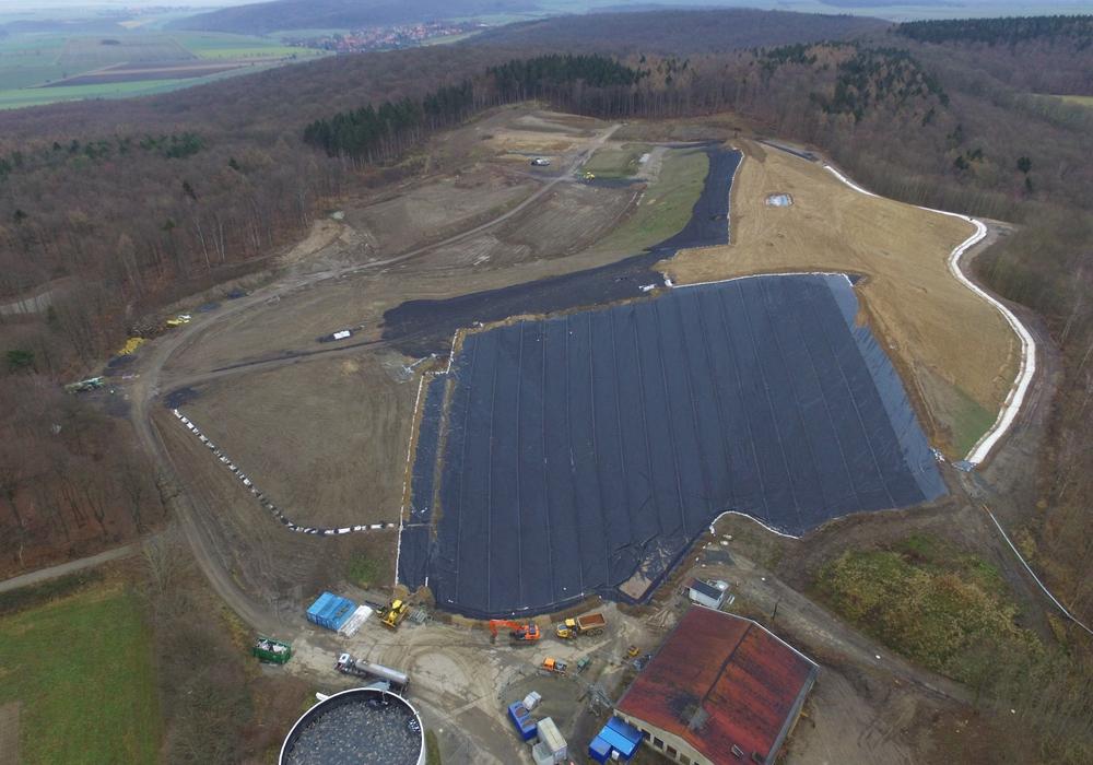 Die Sanierung und Erkundung der Altlast Florentz auf dem Gelände der ehemaligen Deponie Morgenstern wird den Landkreis auch in den kommenden Jahren weiterhin intensiv beschäftigen. Foto: Landkreis Goslar