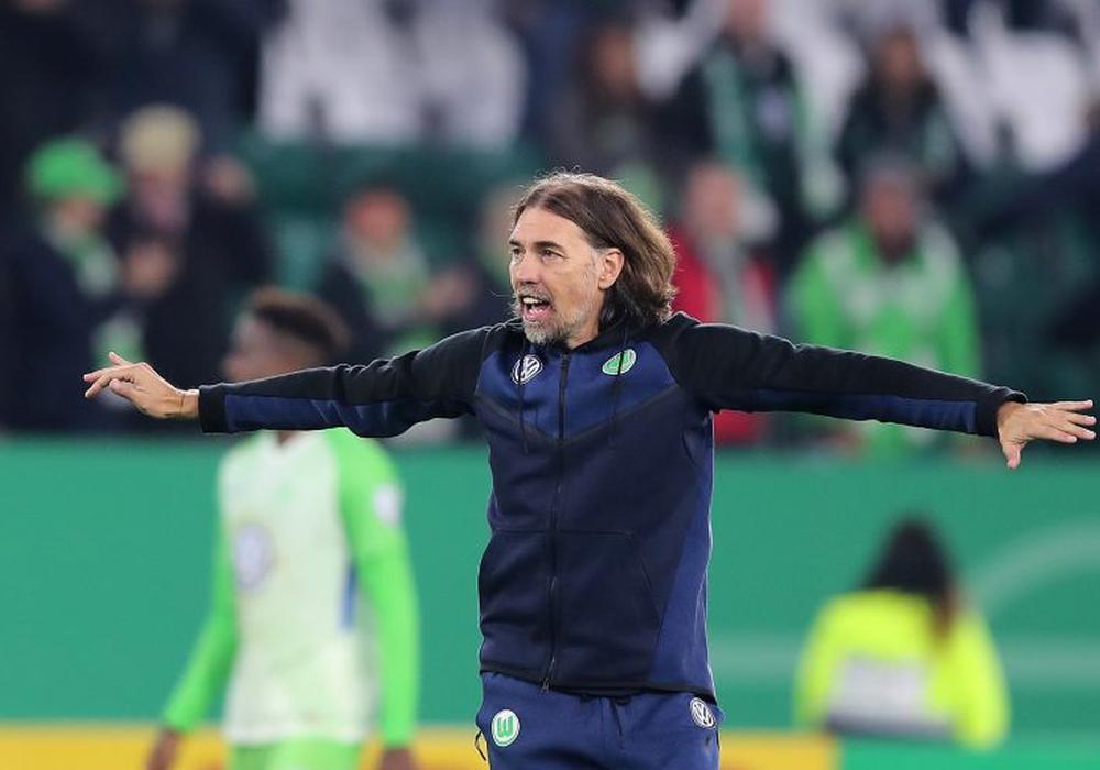 Schmidt möchte nun auch in der Liga seinen ersten Sieg mit dem VfL feiern. Foto: Agentur Hübner