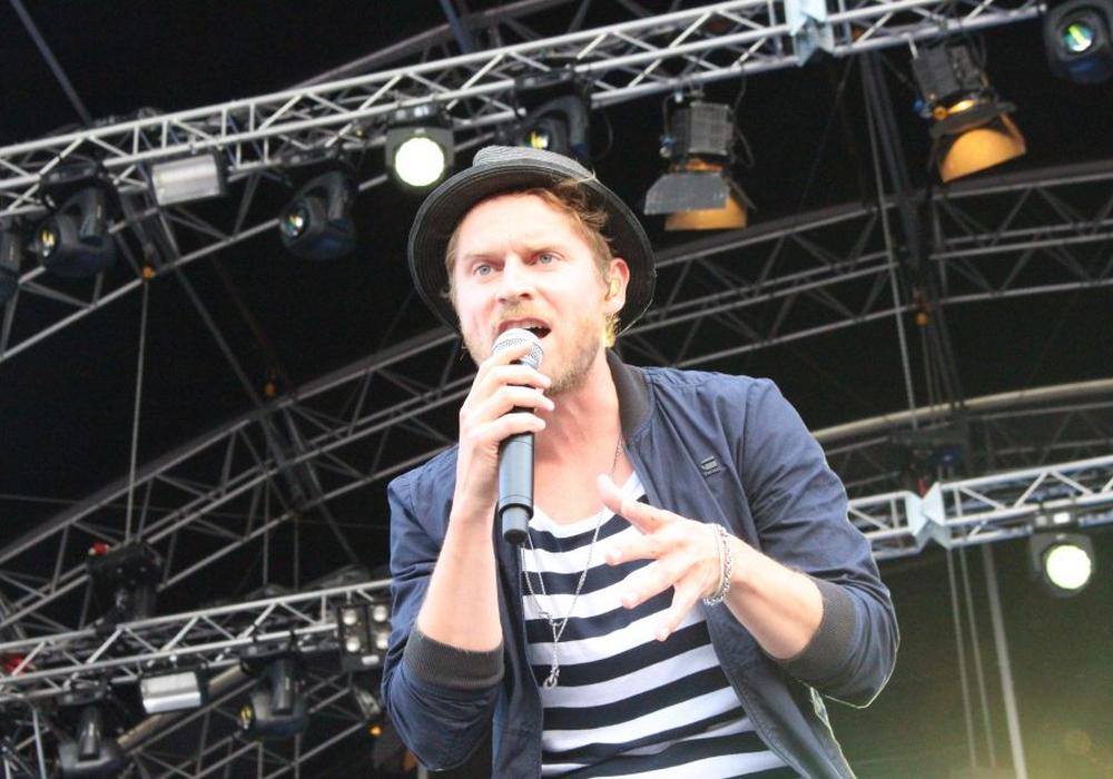 Als Top-Act steht in diesem Jahr Johannes Oerding auf der Bühne. Foto: Archiv