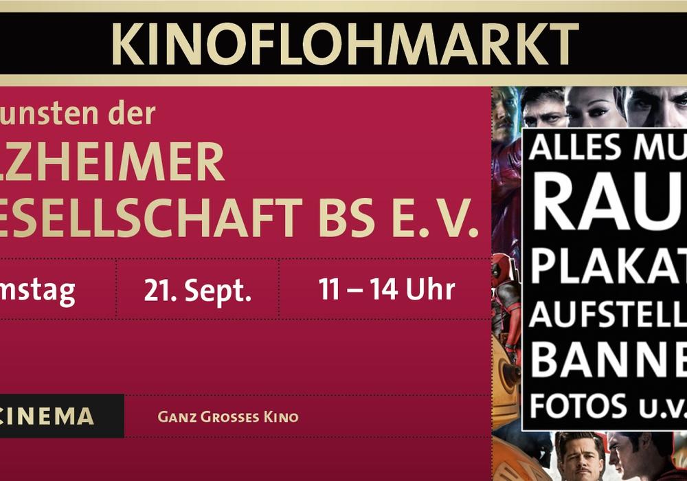Am 21. September können Kinofans wieder Schnäppchen jagen. Plakat: C1 Cinema