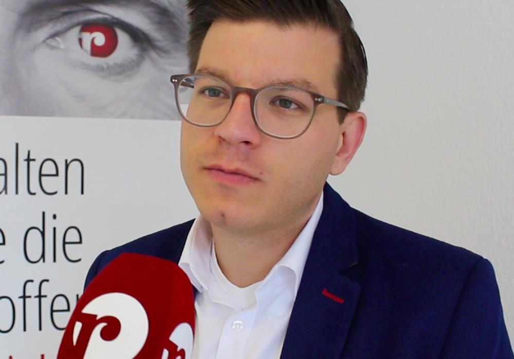FDP-Landtagsabgeordneter Björn Försterling.