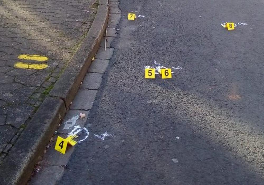 Insgesamt wurden 21 Schuss abgegeben. Foto: Dieter Schneider