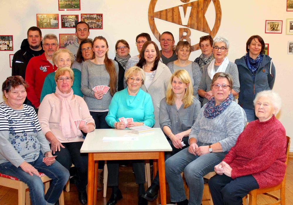 Die Teilnehmer vor dem Turnier. Foto und Text: Bernd-Uwe Meyer