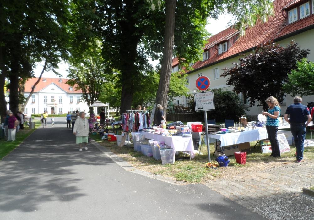 Am kommenden Sonntag findet in Schliestedt der Dorf- und Reiterflohmarkt statt. Foto: Privat