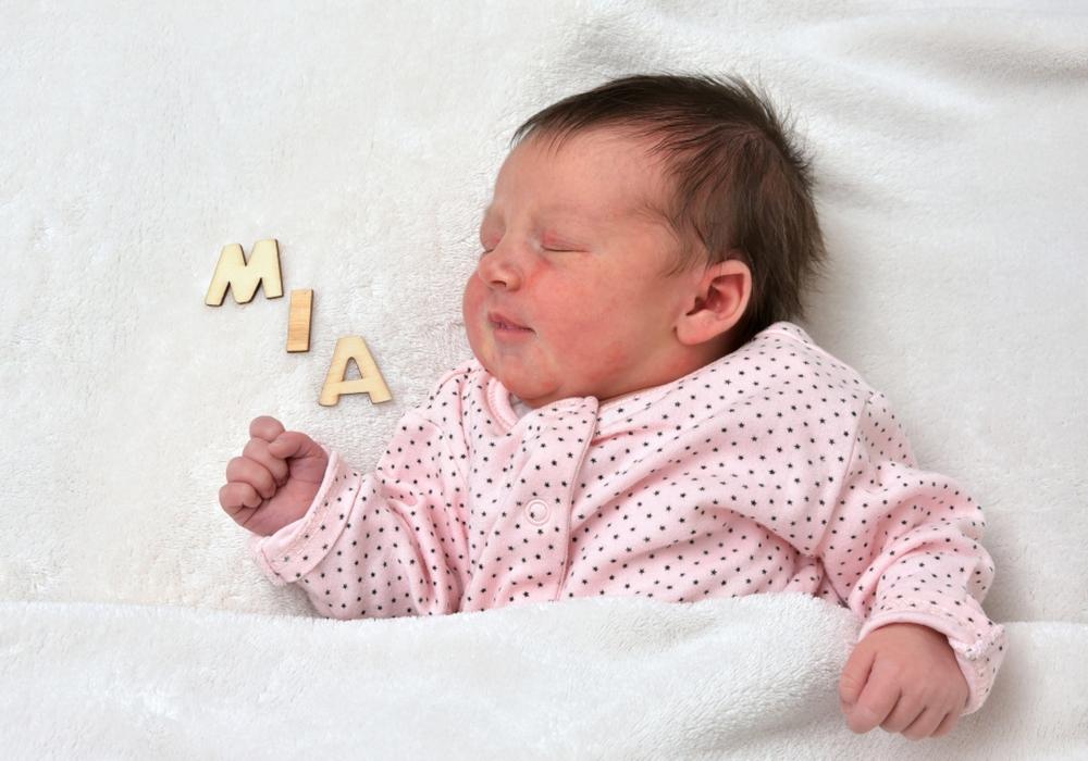 Willkommen, Mia Anna Niciarz. Foto: babysmile24.de