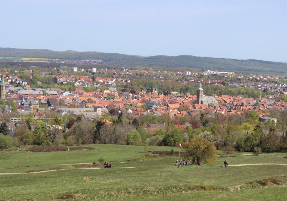 Im ganzen Landkreis wurde Vatertag gefeiert. Der blaue Haufen in Goslar war ein beliebter Treffpunkt an diesem Tag. Fotos: Anke Donner