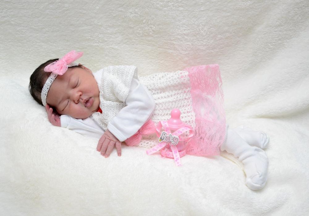Willkommen Alicia Maria Forciniti Barbosa. Foto: babysmile24.de