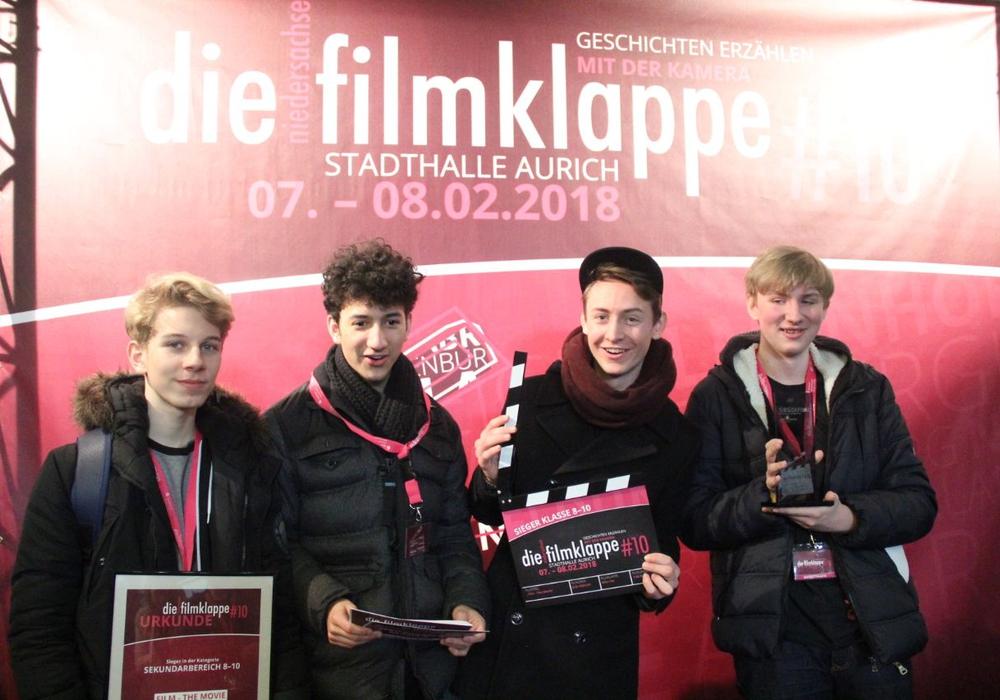 Schüler des Phoenix-Gymnasiums gewinnen Preis. Foto: Stadt Wolfsburg